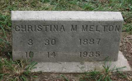 MELTON, CHRISTINA M. - Lawrence County, Arkansas | CHRISTINA M. MELTON - Arkansas Gravestone Photos
