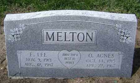 MELTON, E. LEE - Lawrence County, Arkansas | E. LEE MELTON - Arkansas Gravestone Photos