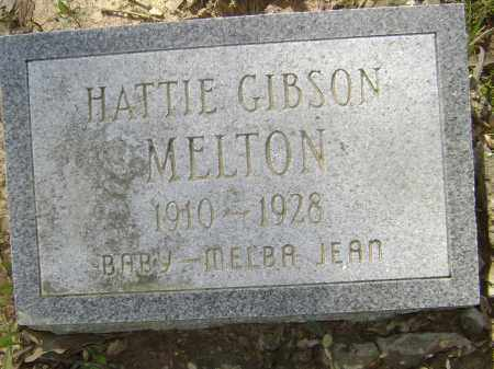 GIBSON MELTON, HATTIE - Lawrence County, Arkansas | HATTIE GIBSON MELTON - Arkansas Gravestone Photos