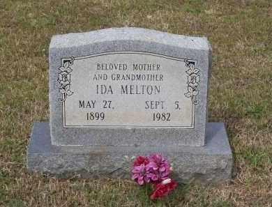 MELTON, IDA - Lawrence County, Arkansas   IDA MELTON - Arkansas Gravestone Photos