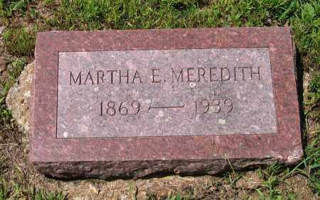 MEREDITH, MARTHA E. - Lawrence County, Arkansas | MARTHA E. MEREDITH - Arkansas Gravestone Photos