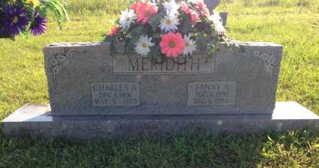 MERIDITH, FANNY A. - Lawrence County, Arkansas | FANNY A. MERIDITH - Arkansas Gravestone Photos