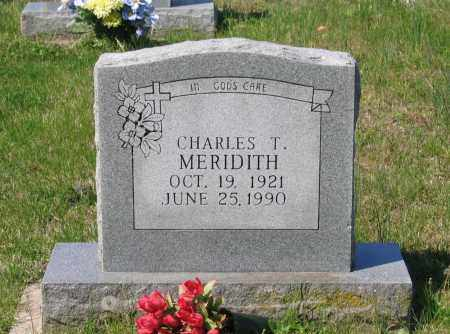 "MERIDITH, CHARLES TIBBLES ""BUD"" - Lawrence County, Arkansas 