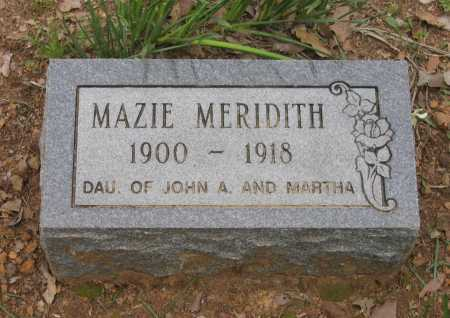 MERIDITH, MAZIE E. - Lawrence County, Arkansas | MAZIE E. MERIDITH - Arkansas Gravestone Photos