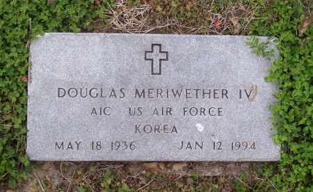 MERIWETHER IV (VETERAN KOR), DOUGLAS - Lawrence County, Arkansas   DOUGLAS MERIWETHER IV (VETERAN KOR) - Arkansas Gravestone Photos