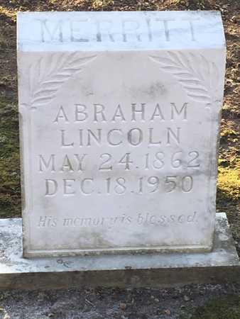 MERRITT, ABRAHAM LINCOLN - Lawrence County, Arkansas | ABRAHAM LINCOLN MERRITT - Arkansas Gravestone Photos