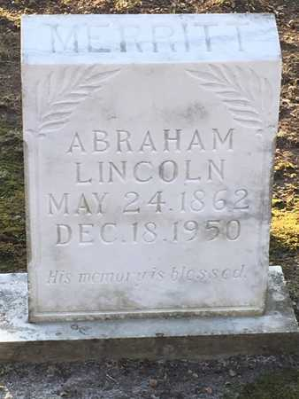 MERRITT, ABRAHAM LINCOLN - Lawrence County, Arkansas | ABRAHAM LINCOLN MERRITT - Arkansas Gravestone Photos