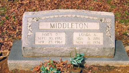MIDDLETON, LONDA A. - Lawrence County, Arkansas | LONDA A. MIDDLETON - Arkansas Gravestone Photos