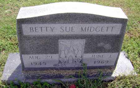 MIDGETT, BETTY SUE - Lawrence County, Arkansas | BETTY SUE MIDGETT - Arkansas Gravestone Photos