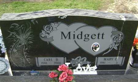 MIDGETT, CARL DWAYNE - Lawrence County, Arkansas | CARL DWAYNE MIDGETT - Arkansas Gravestone Photos