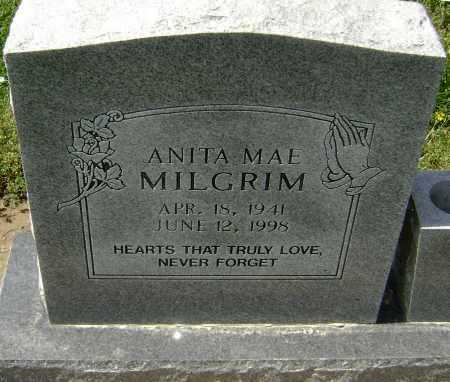 MILGRIM, ANITA MAE - Lawrence County, Arkansas | ANITA MAE MILGRIM - Arkansas Gravestone Photos