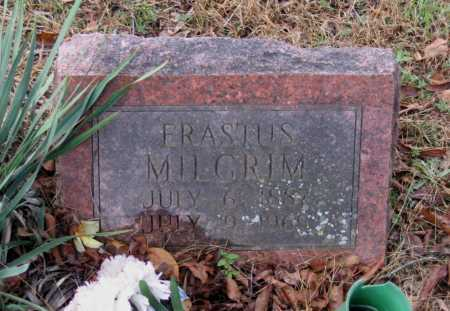 MILGRIM, ERASTUS - Lawrence County, Arkansas | ERASTUS MILGRIM - Arkansas Gravestone Photos