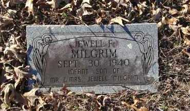 MILGRIM, JEWELL F. - Lawrence County, Arkansas | JEWELL F. MILGRIM - Arkansas Gravestone Photos