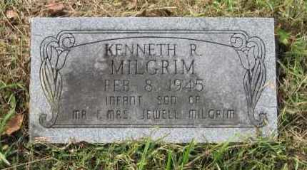 MILGRIM, KENNETH R. - Lawrence County, Arkansas | KENNETH R. MILGRIM - Arkansas Gravestone Photos
