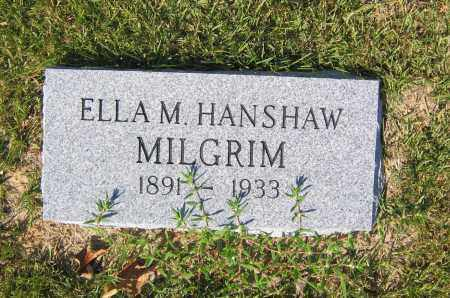 MILGRIM, ELLA M. - Lawrence County, Arkansas | ELLA M. MILGRIM - Arkansas Gravestone Photos