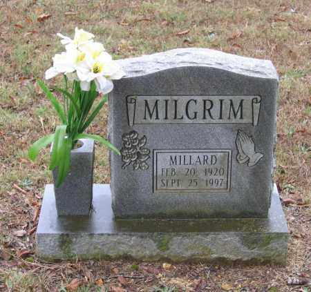 MILGRIM, MILLARD - Lawrence County, Arkansas | MILLARD MILGRIM - Arkansas Gravestone Photos