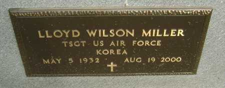 MILLER  (VETERAN KOR), LLOYD WILSON - Lawrence County, Arkansas | LLOYD WILSON MILLER  (VETERAN KOR) - Arkansas Gravestone Photos