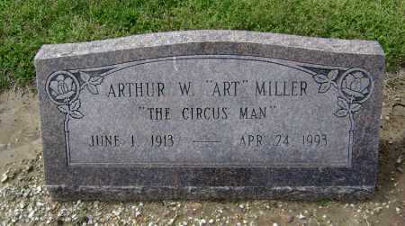 "MILLER, ARTHUR W. ""ART"" - Lawrence County, Arkansas 
