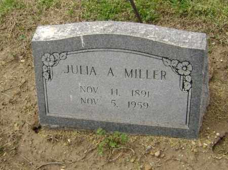 MILLER, JULIA A. - Lawrence County, Arkansas | JULIA A. MILLER - Arkansas Gravestone Photos