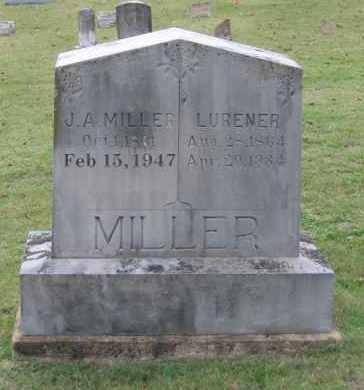 "MILLER, JAMES ALEXANDER ""J. A."" - Lawrence County, Arkansas 