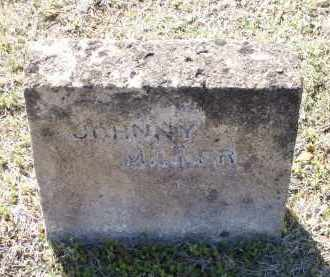 MILLER, JOHNNY - Lawrence County, Arkansas | JOHNNY MILLER - Arkansas Gravestone Photos