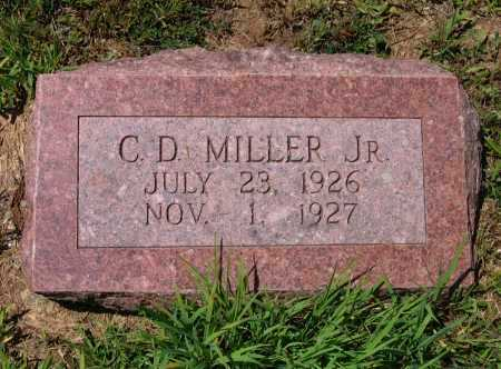 MILLER, JR., CHARLES DOUGLAS - Lawrence County, Arkansas | CHARLES DOUGLAS MILLER, JR. - Arkansas Gravestone Photos