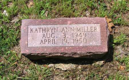 MILLER, KATHRYN ANN - Lawrence County, Arkansas | KATHRYN ANN MILLER - Arkansas Gravestone Photos