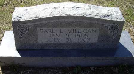 MILLIGAN, EARL L. - Lawrence County, Arkansas | EARL L. MILLIGAN - Arkansas Gravestone Photos