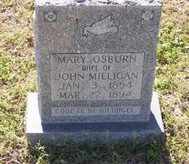 MILLIGAN, MARY J. - Lawrence County, Arkansas | MARY J. MILLIGAN - Arkansas Gravestone Photos