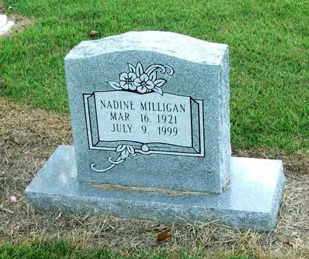 MILLIGAN, NADINE H. - Lawrence County, Arkansas | NADINE H. MILLIGAN - Arkansas Gravestone Photos
