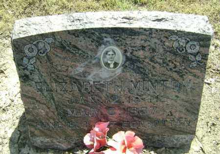 MINTON, ELIZABETH - Lawrence County, Arkansas | ELIZABETH MINTON - Arkansas Gravestone Photos