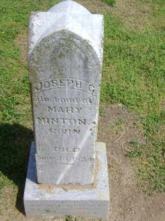 MINTON, JOSEPH G. - Lawrence County, Arkansas | JOSEPH G. MINTON - Arkansas Gravestone Photos