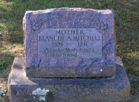 SEGRAVES MITCHELL, BLANCHE A. - Lawrence County, Arkansas | BLANCHE A. SEGRAVES MITCHELL - Arkansas Gravestone Photos