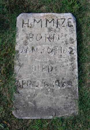 MIZE, HENRY M. - Lawrence County, Arkansas | HENRY M. MIZE - Arkansas Gravestone Photos