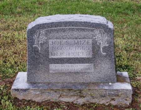 "MIZE, JOSEPH SHELBY ""JOE S."" - Lawrence County, Arkansas | JOSEPH SHELBY ""JOE S."" MIZE - Arkansas Gravestone Photos"