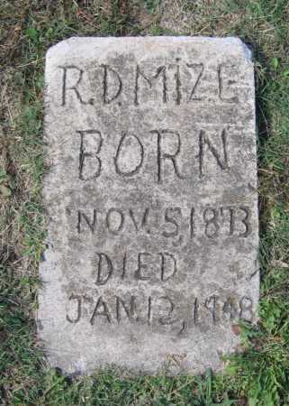 "MIZE, ROBERT DETROIT ""R. D."" - Lawrence County, Arkansas 