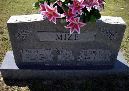 CAMPBELL MIZE, MILDRED LORENE - Lawrence County, Arkansas | MILDRED LORENE CAMPBELL MIZE - Arkansas Gravestone Photos