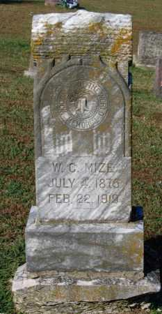 "MIZE, WILLIAM CIMSEY ""W. C."" - Lawrence County, Arkansas 