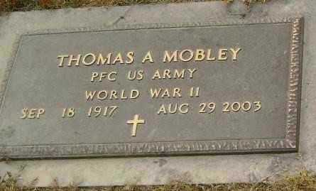MOBLEY  (VETERAN WWII), THOMAS ARTIS - Lawrence County, Arkansas | THOMAS ARTIS MOBLEY  (VETERAN WWII) - Arkansas Gravestone Photos