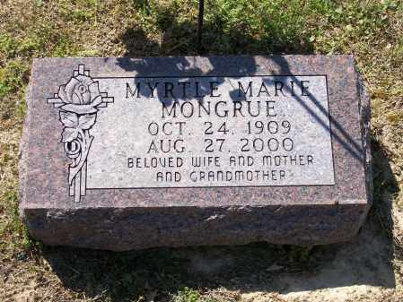 MONGRUE, MYRTLE MARIE - Lawrence County, Arkansas | MYRTLE MARIE MONGRUE - Arkansas Gravestone Photos