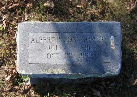 MONTGOMERY, ALBERT P. - Lawrence County, Arkansas | ALBERT P. MONTGOMERY - Arkansas Gravestone Photos
