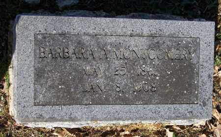 MONTGOMERY, BARBARA A. - Lawrence County, Arkansas | BARBARA A. MONTGOMERY - Arkansas Gravestone Photos