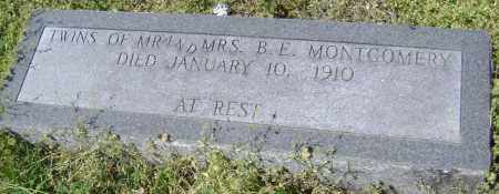 MONTGOMERY, TWINS - Lawrence County, Arkansas | TWINS MONTGOMERY - Arkansas Gravestone Photos