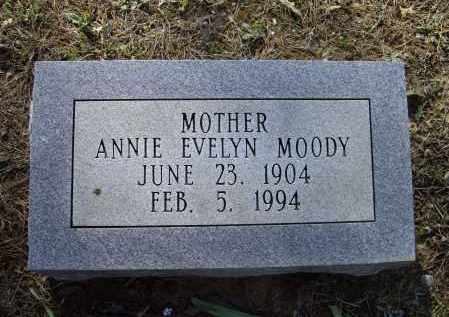 MOODY, ANNIE EVELYN - Lawrence County, Arkansas | ANNIE EVELYN MOODY - Arkansas Gravestone Photos