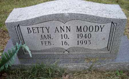MOODY, BETTY ANN - Lawrence County, Arkansas | BETTY ANN MOODY - Arkansas Gravestone Photos