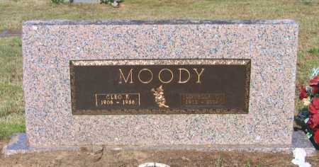 MOODY, CLEO ELLIS - Lawrence County, Arkansas | CLEO ELLIS MOODY - Arkansas Gravestone Photos