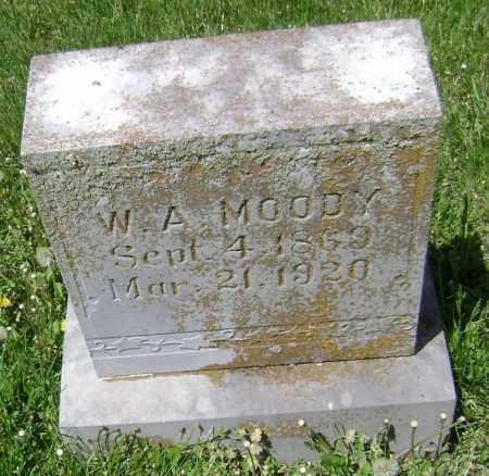MOODY, W. A. - Lawrence County, Arkansas | W. A. MOODY - Arkansas Gravestone Photos