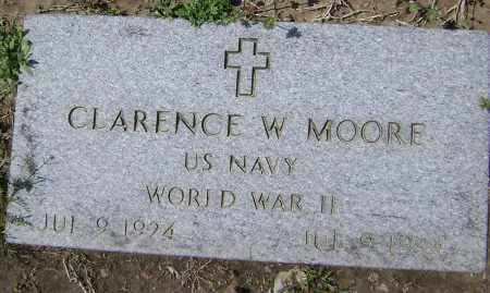 MOORE  (VETERAN WWII), CLARENCE W. - Lawrence County, Arkansas | CLARENCE W. MOORE  (VETERAN WWII) - Arkansas Gravestone Photos