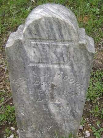 MOORE, REV., ALFRED J. - Lawrence County, Arkansas   ALFRED J. MOORE, REV. - Arkansas Gravestone Photos