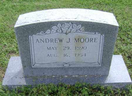 MOORE, ANDREW J. - Lawrence County, Arkansas | ANDREW J. MOORE - Arkansas Gravestone Photos
